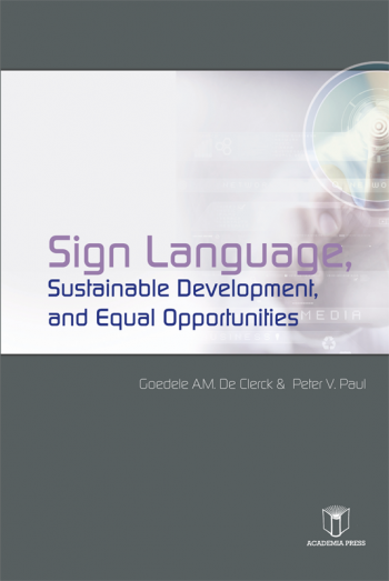 Sign Language, Sustainable Development & Equal Opportunities