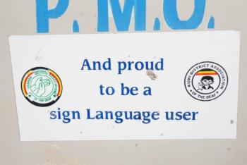 Sustainable Development of Sign Language Communities