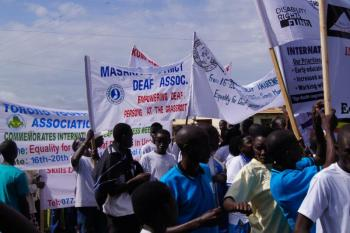 Gelijkheid Oegandese Doven